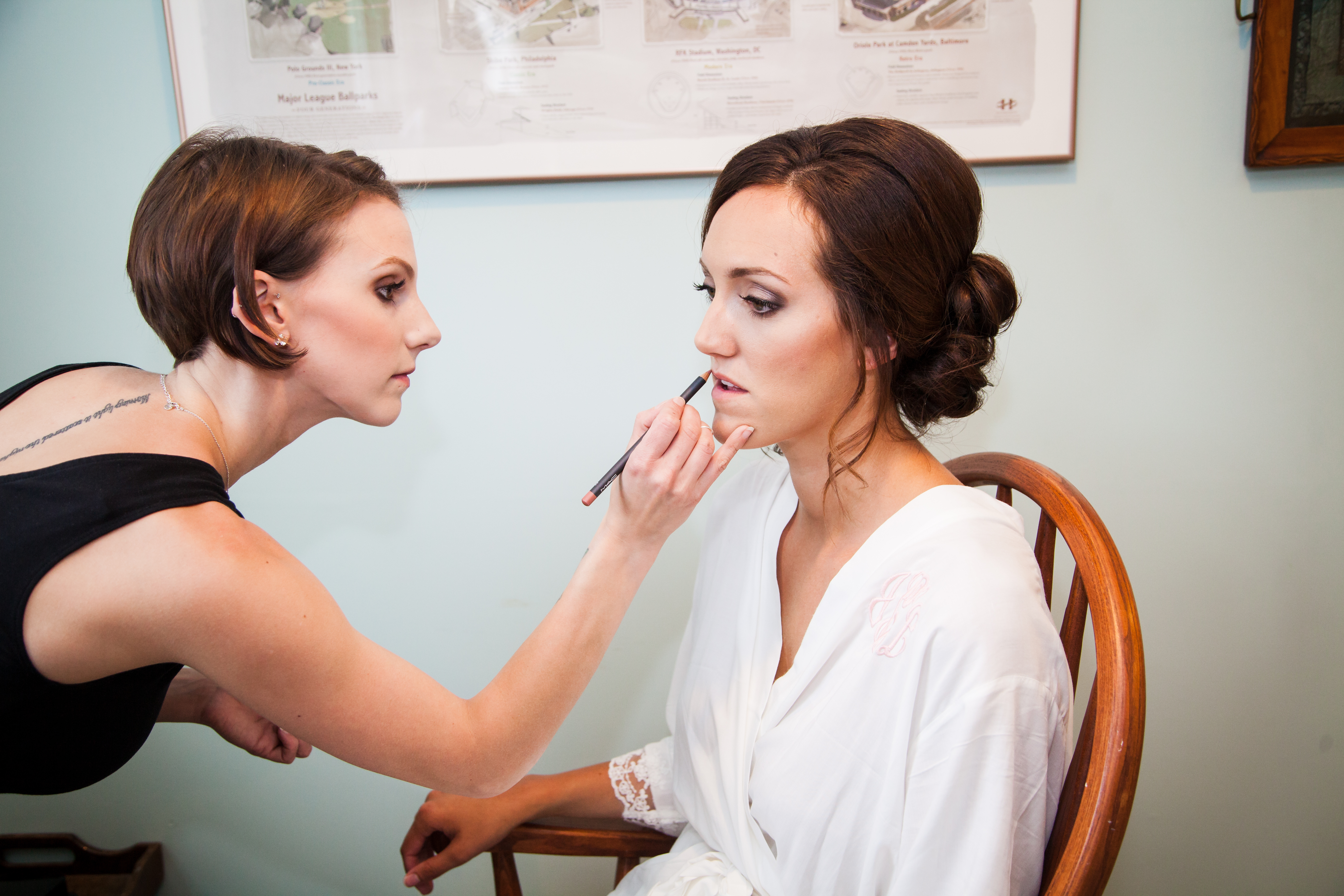 Jamestown RI wedding hair and makeup