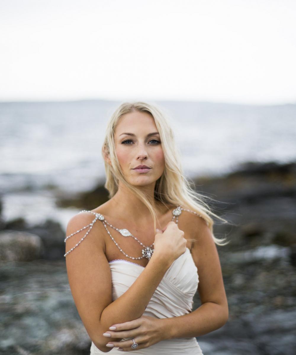 Newport RI bridal makeup