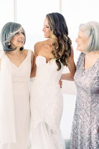 Bridal downstyle