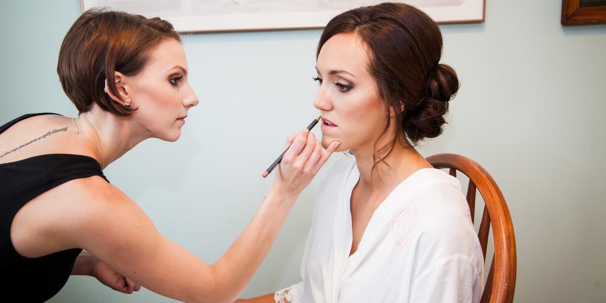 Jamestown RI wedding hair and makeup