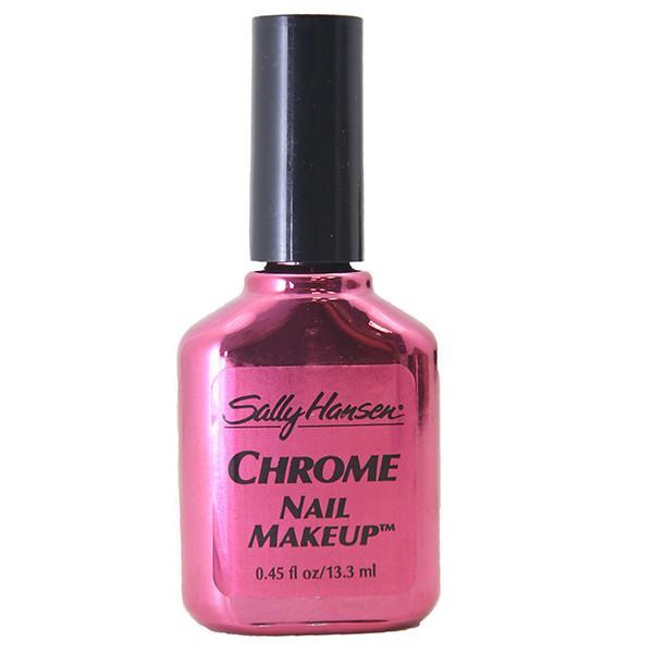 Sally Hansen Chrome Nail Makeup, Sally Hansen Nail Polish