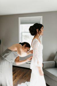 Rhode Island wedding hair stylist
