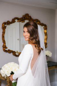 Newport RI wedding hair
